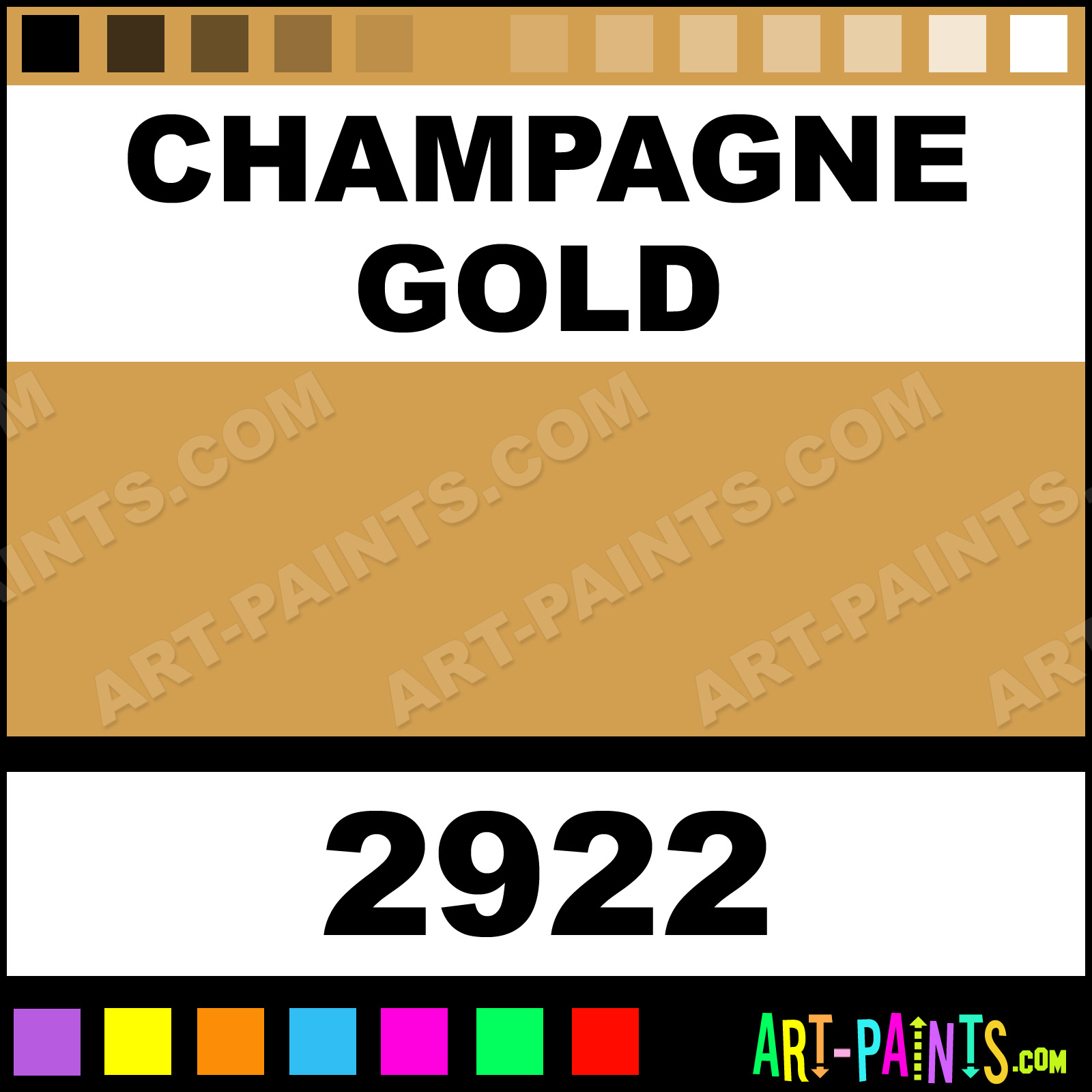 Champagne Gold Paint