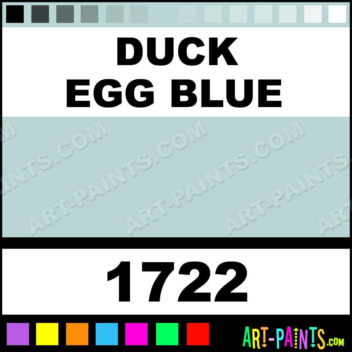 Duck Egg Blue Model Master Metal Paints and Metallic Paints - 1722 - Duck Egg Blue Paint, Duck ...