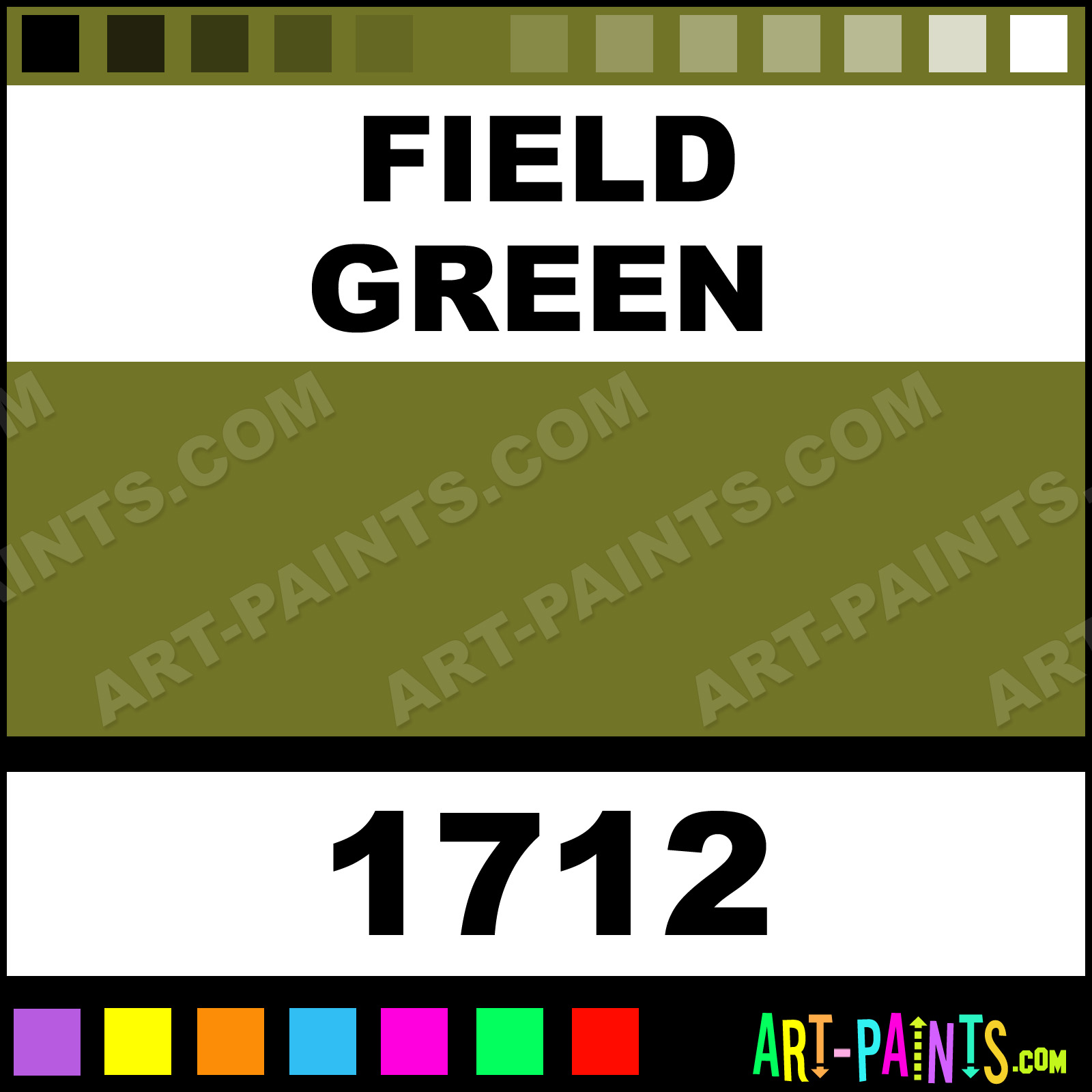 Field Green Model Master Metal Paints And Metallic Paints 1712
