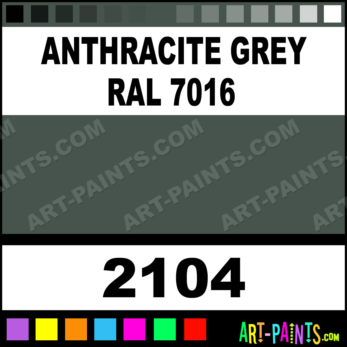 Anthracite Grey Ral 7016 Model Metal Paints And Metallic