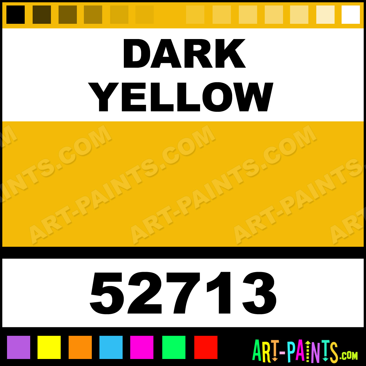 Dark Yellow Model Metal Paints And Metallic Paints 52713