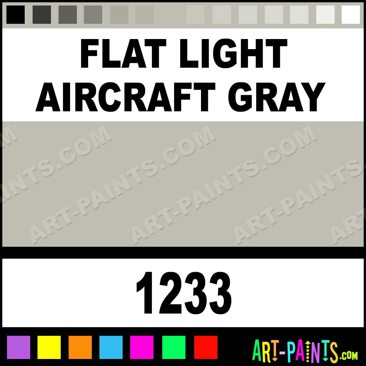 Flat Light Aircraft Gray Lg
