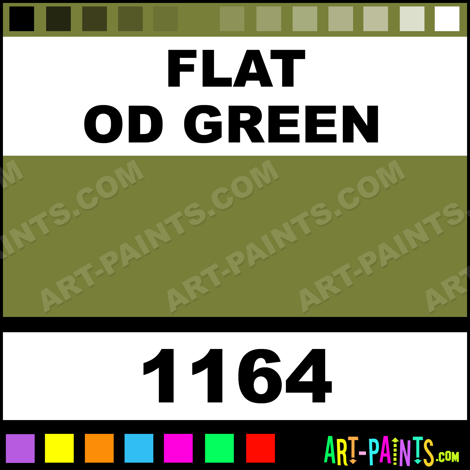 Flat Od Green Model Metal Paints And Metallic Paints  Flat Od Green Paint Flat Od Green