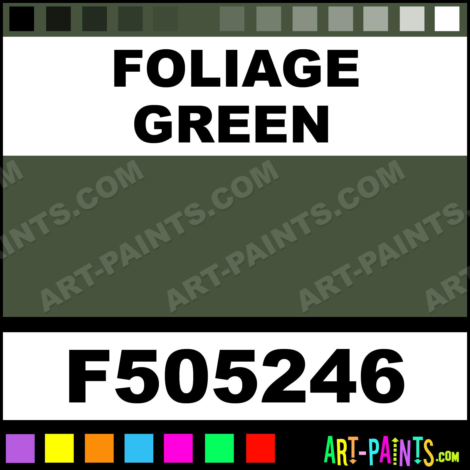 Foliage Green Paint