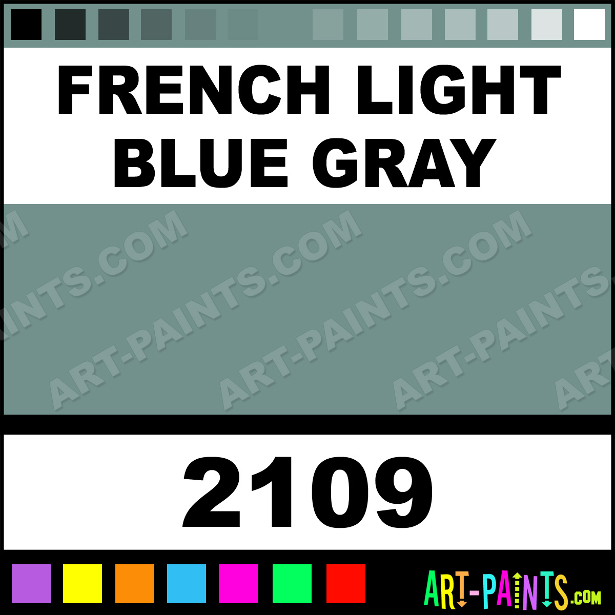 French Light Blue Gray Model Metal Paints And Metallic