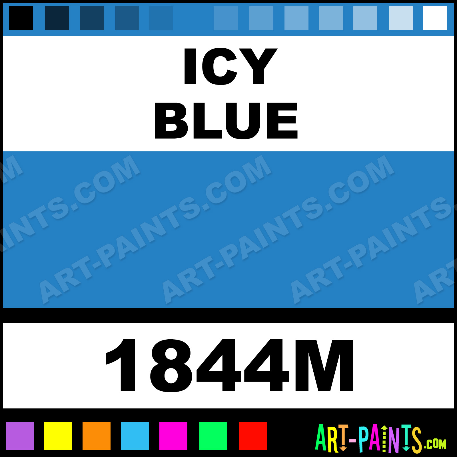 Icy Blue Paint