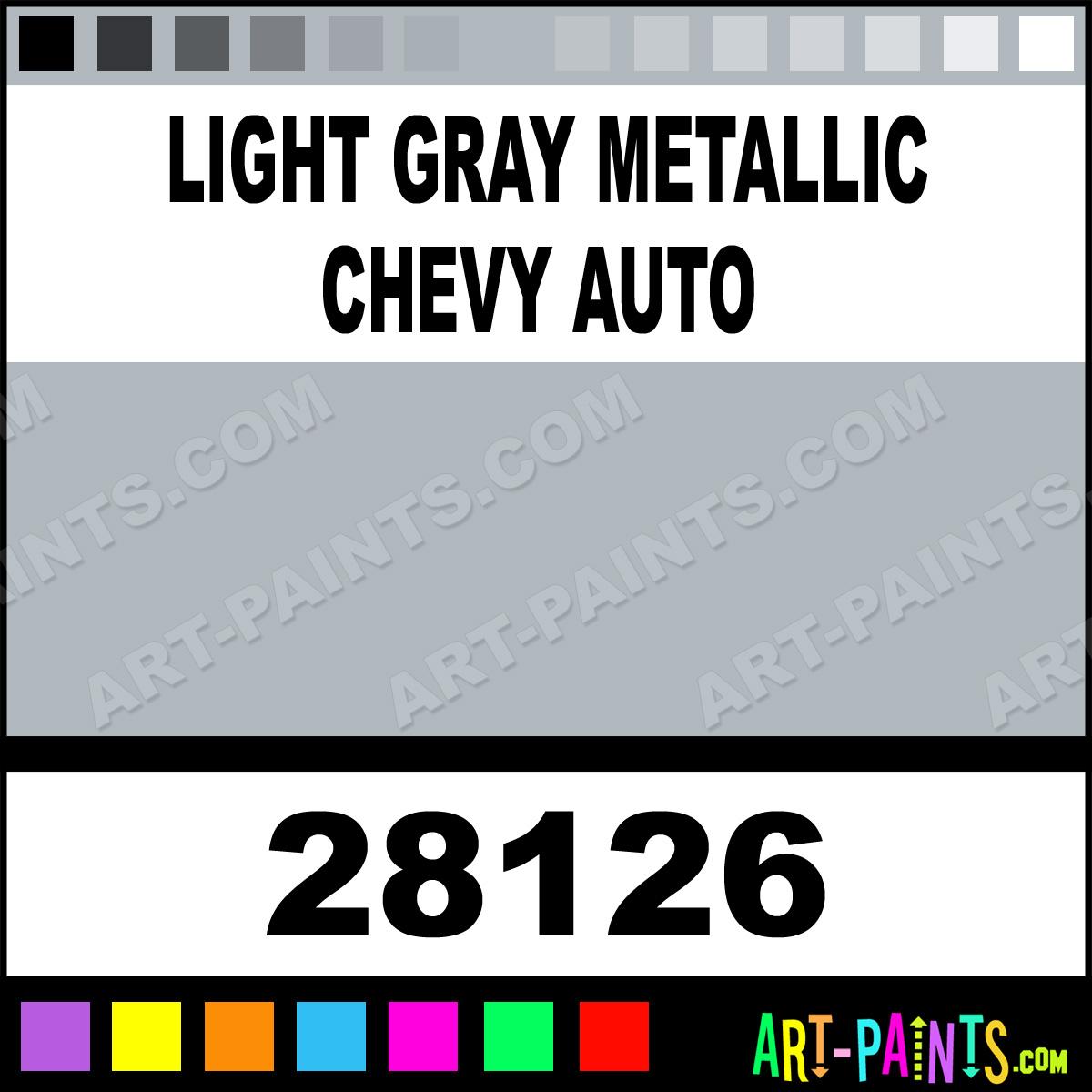 Light Gray Metallic Chevy Auto