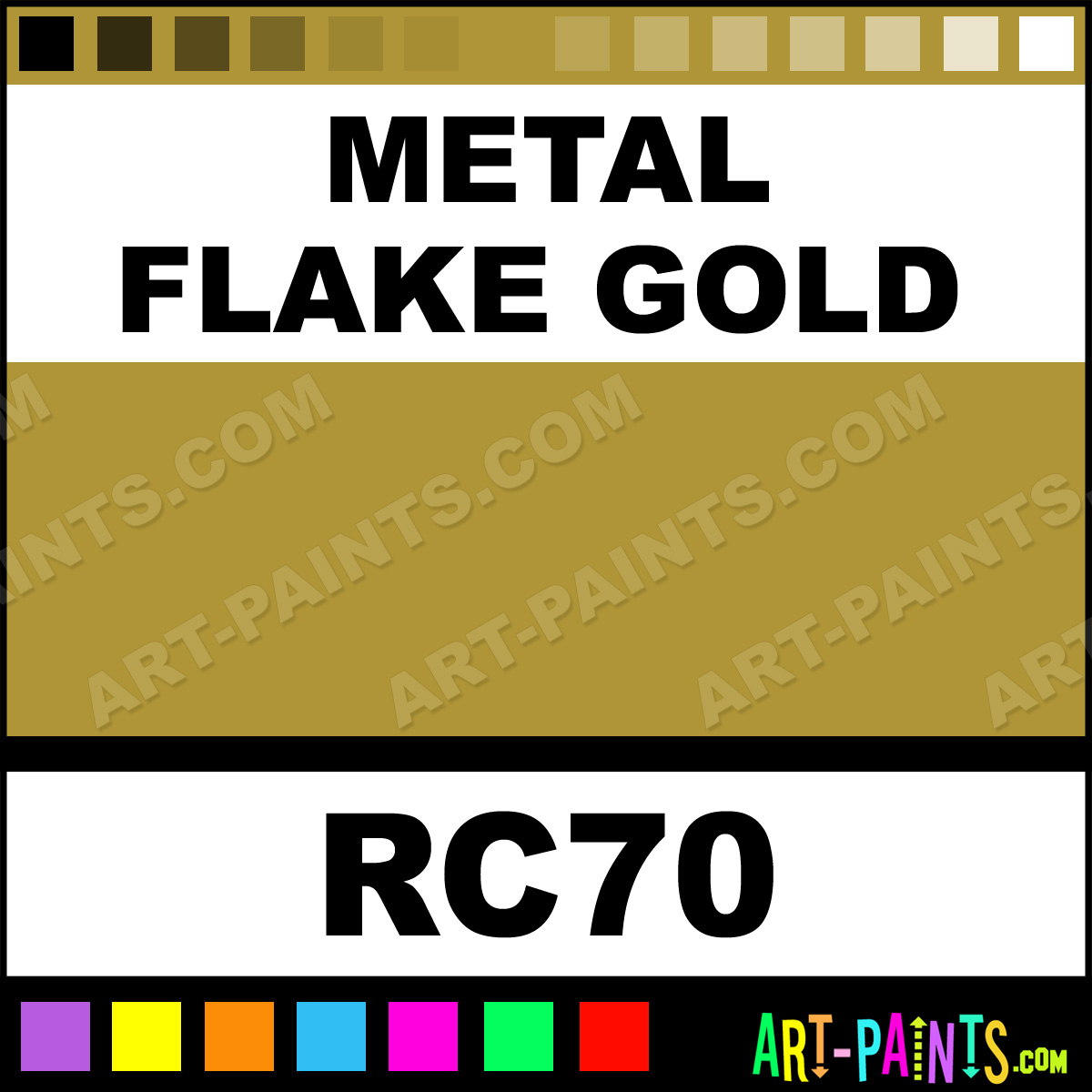 Gold Paint For Metal Metal Flake Gold Paint