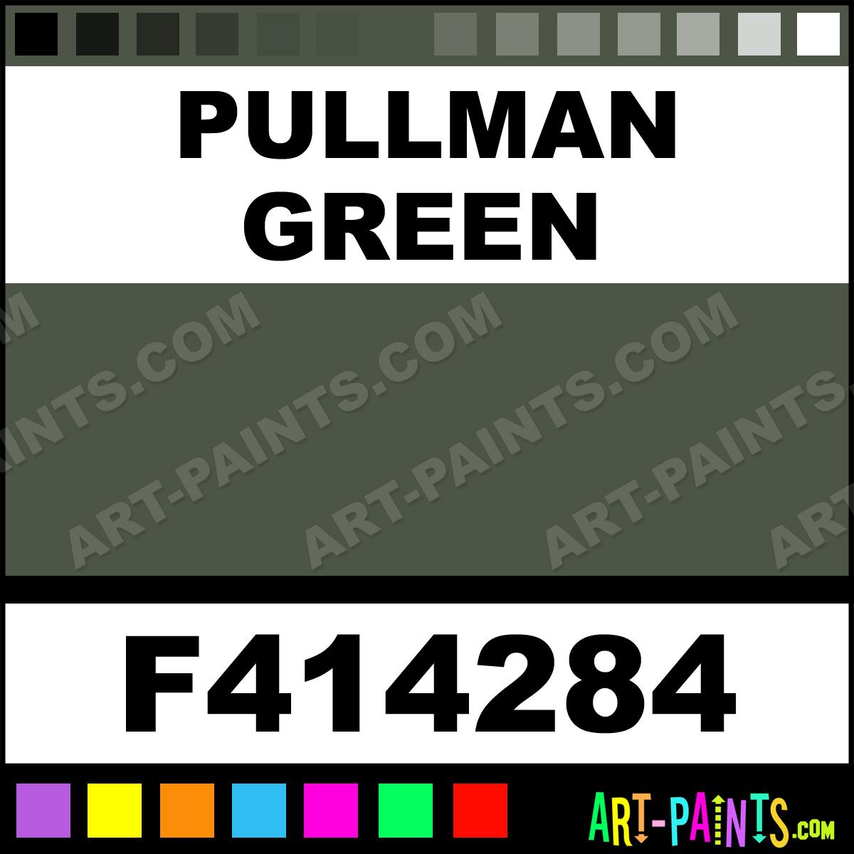 Pullman Green Model Metal Paints And Metallic Paints