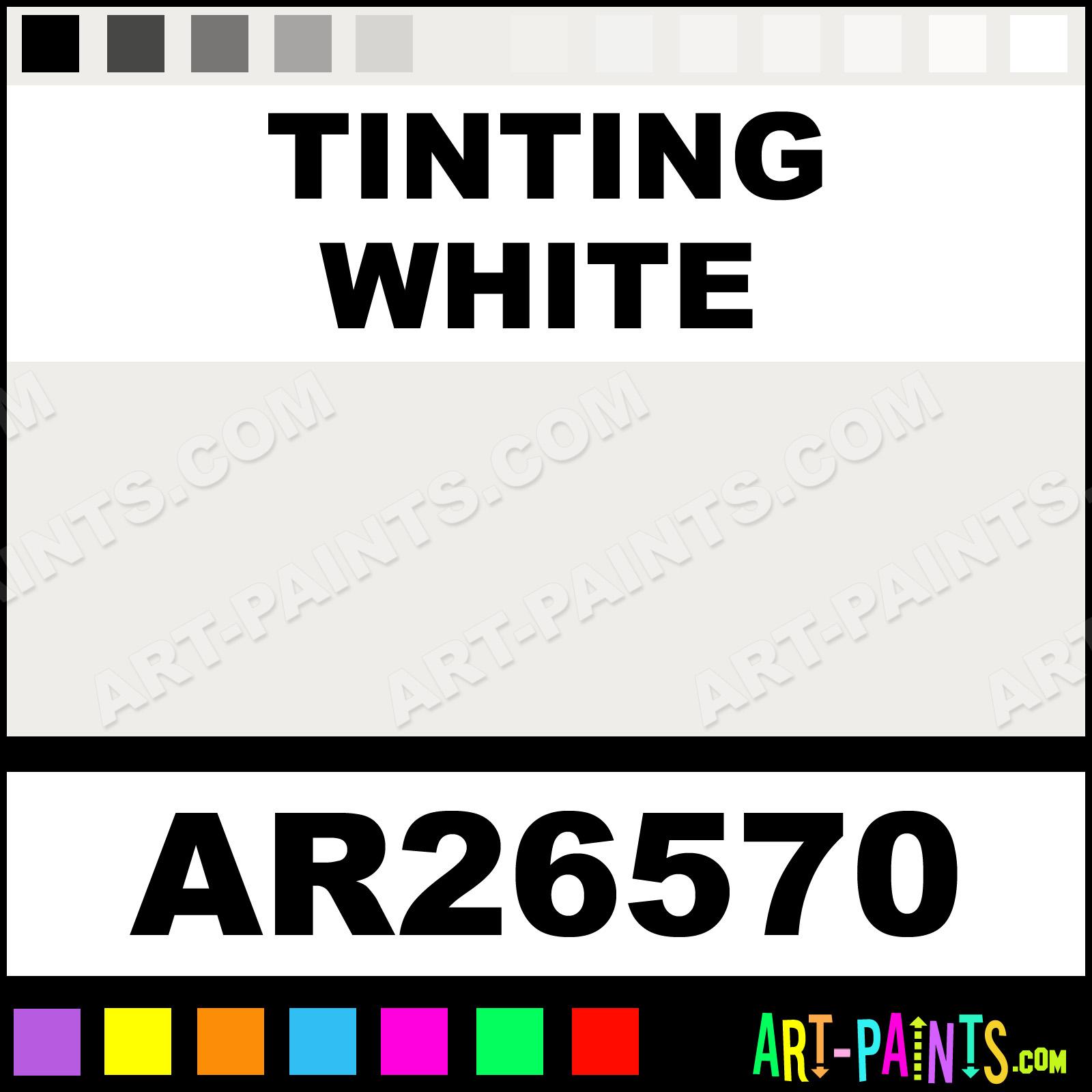 Tinting White Paint