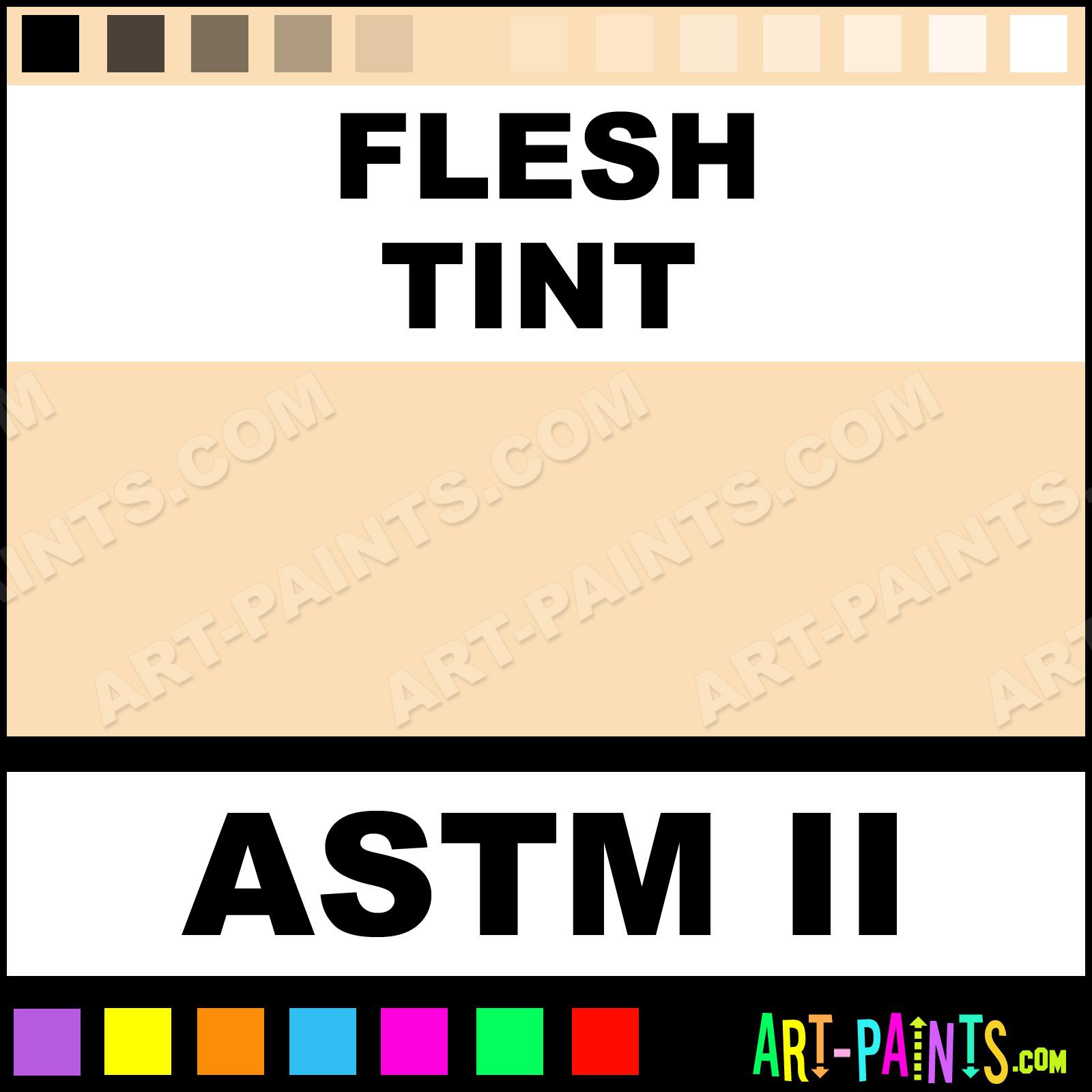 Flesh Tint Oil Paint