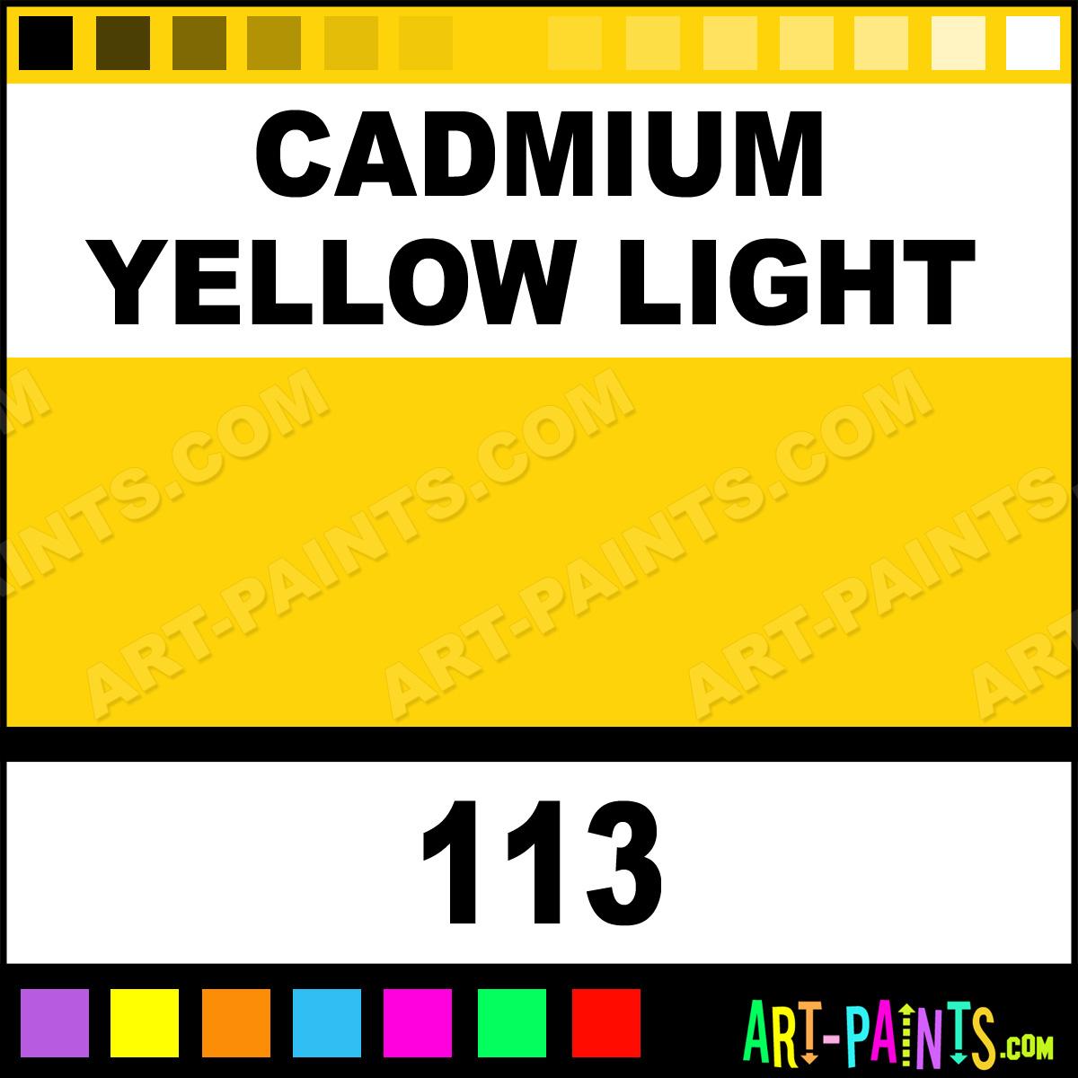 bauhaus artisan cadmium yellow light