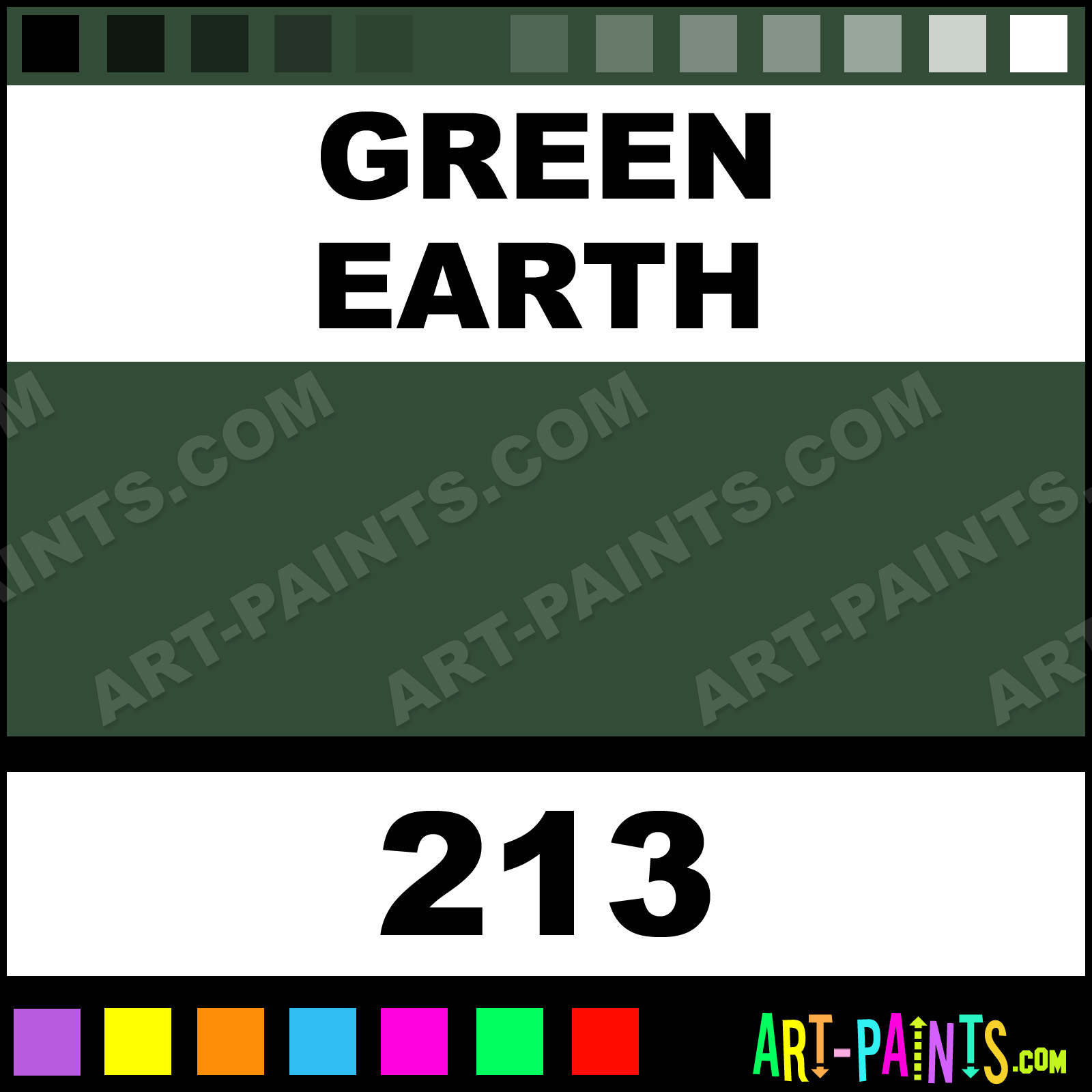 Earth Colors Paint Cool Of Green Earth Paint Colors Image
