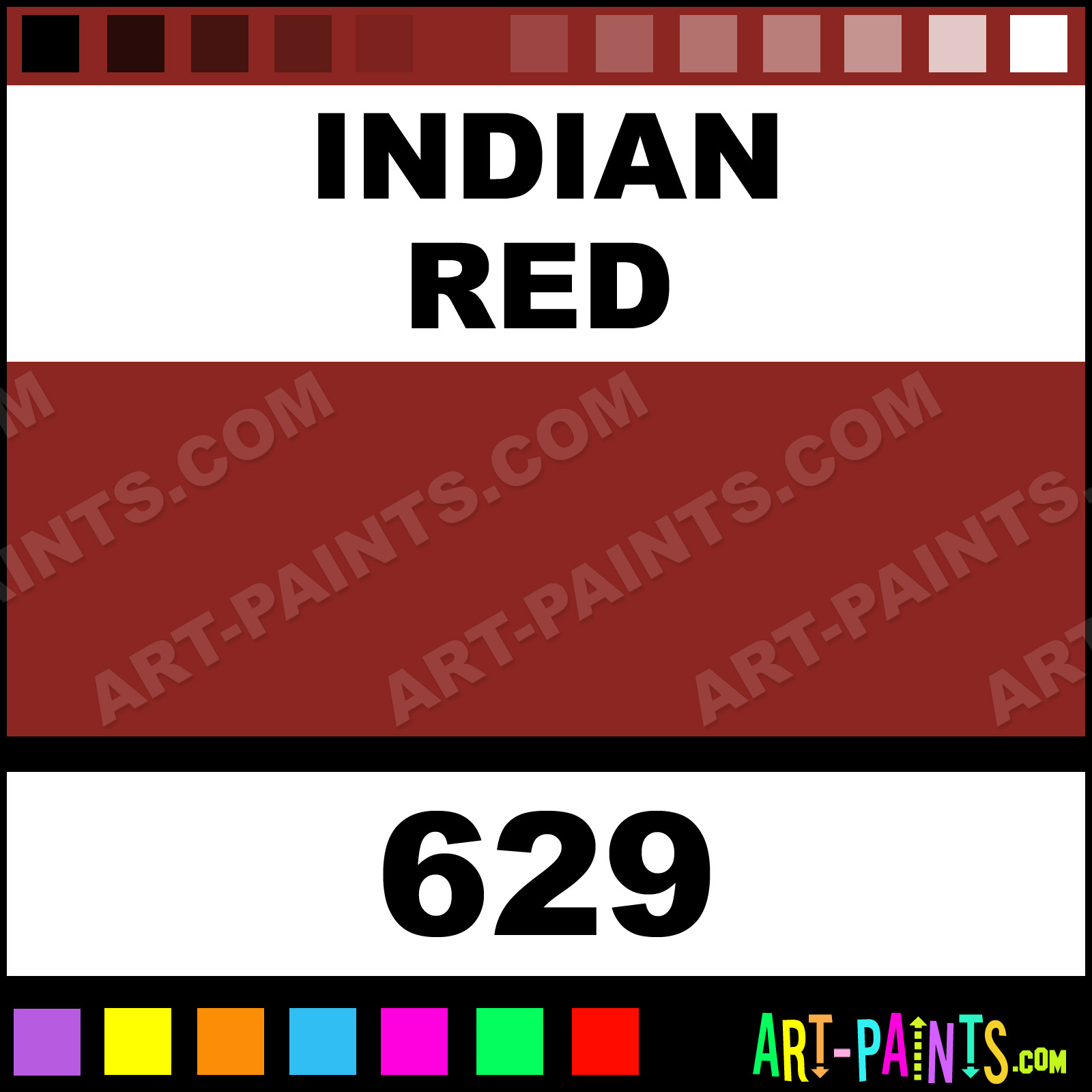 Indian Red Colors Oil Paints - 629 - Indian Red Paint ... - photo#17