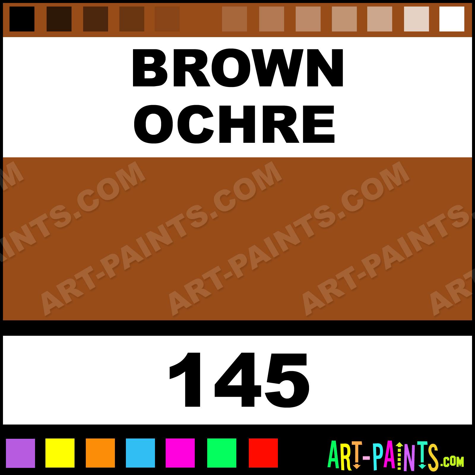 Brown Ochre Artist Oil Paints 145 Brown Ochre Paint