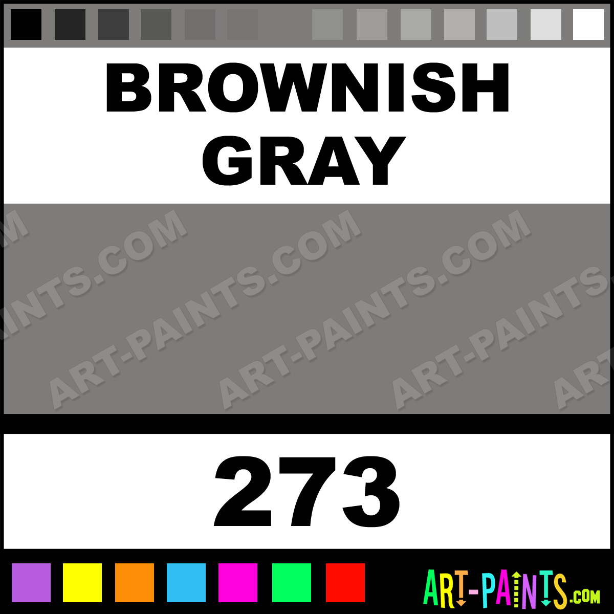 Brownish Gray Paint Color 1200 x 1200