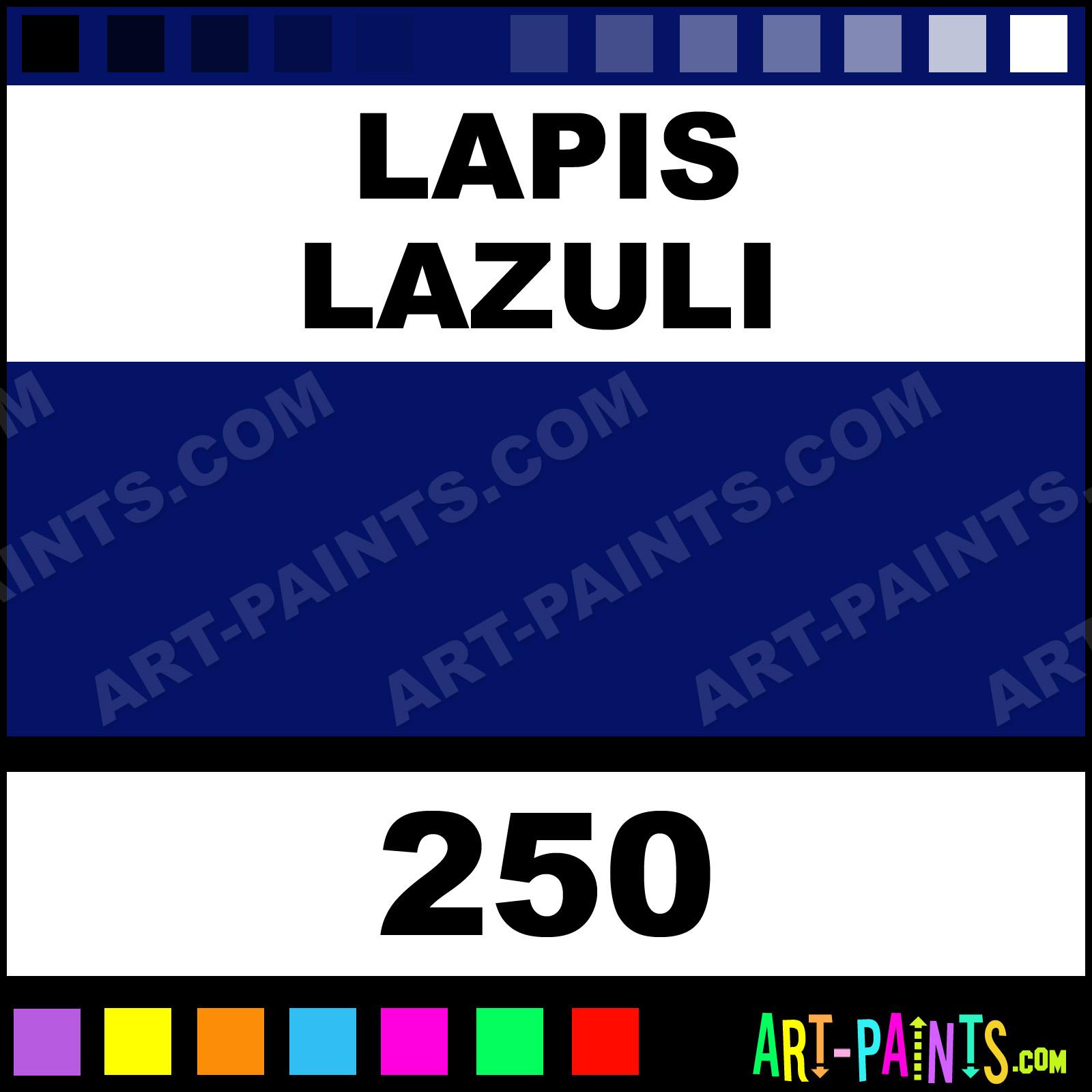 Lapis Lazuli Artist Oil Paints 250 Lapis Lazuli Paint