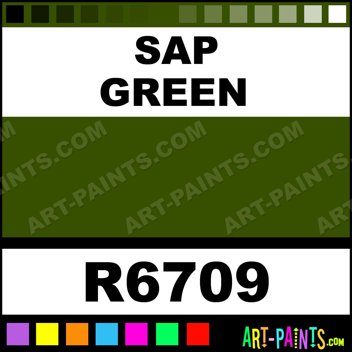 Bob Ross Paints Green