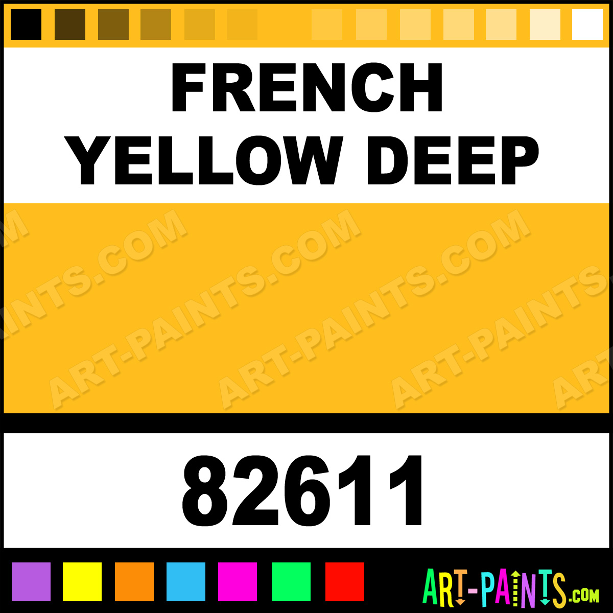 french yellow deep fine oil paints 82611 french yellow
