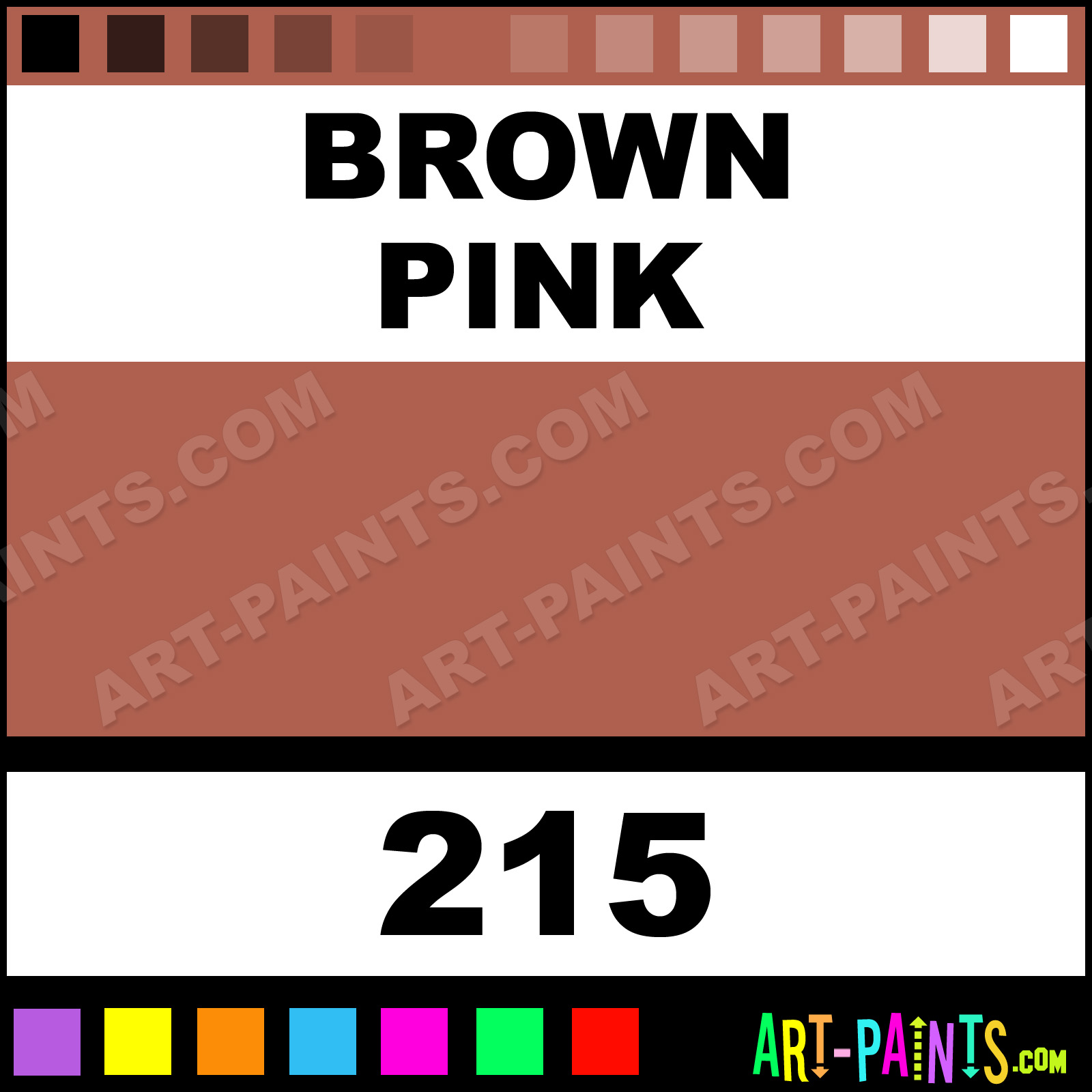 Brown Pink xlg