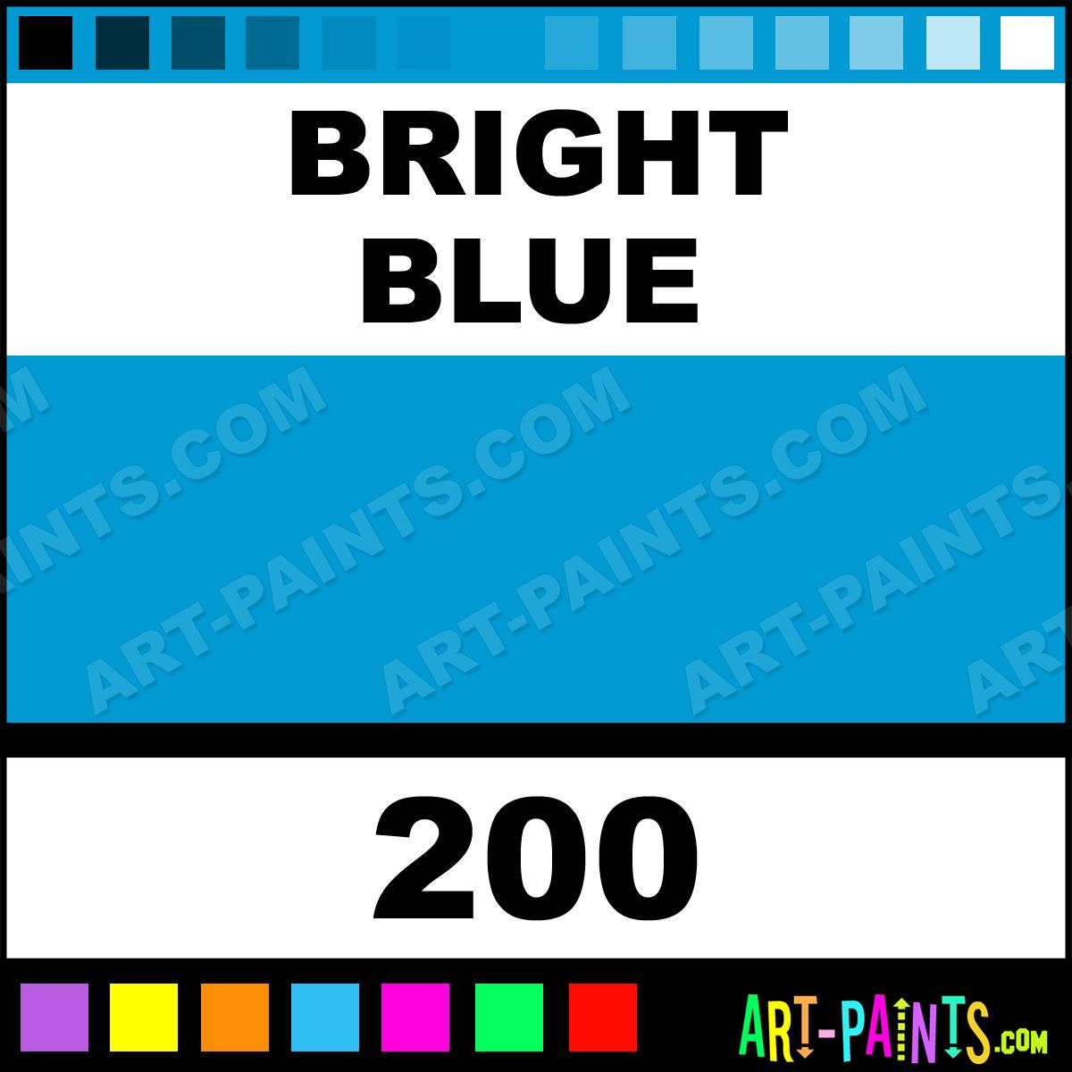 Bright blue paint colors - Bright Blue Paint