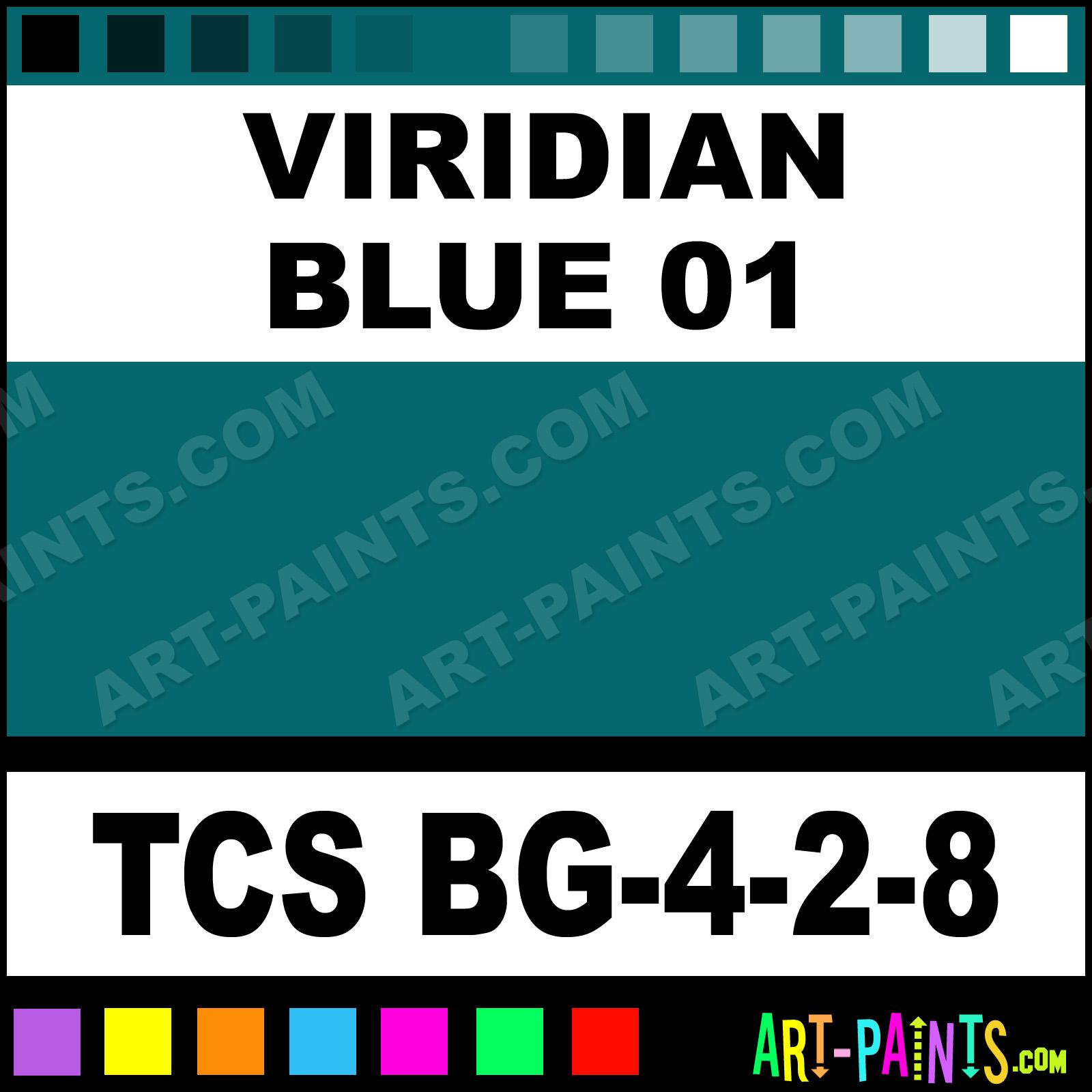 Viridian Oil Paint