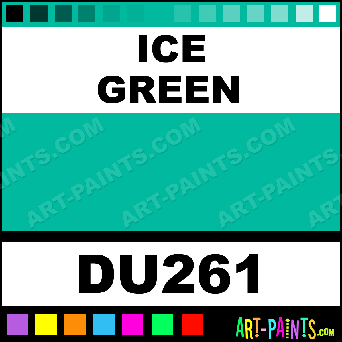 Holbein Duo Aqua Color Chart by Holbein Duo Aqua Paints