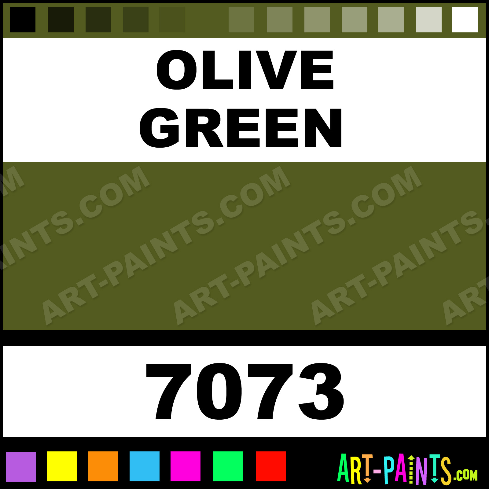 Olive Color Code Olive Green Paint