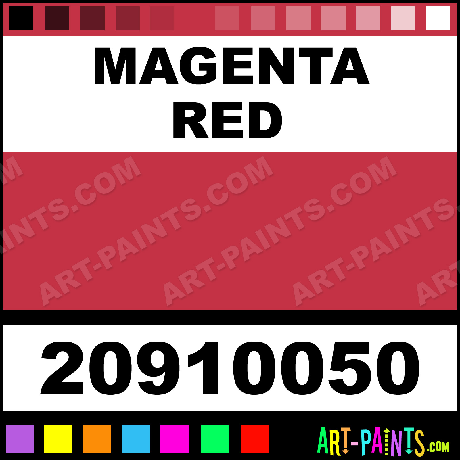 Lukas Paints Magenta Red