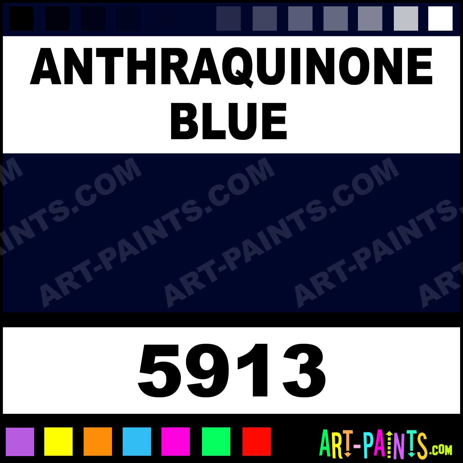 Anthraquinone Blue Oil Paint
