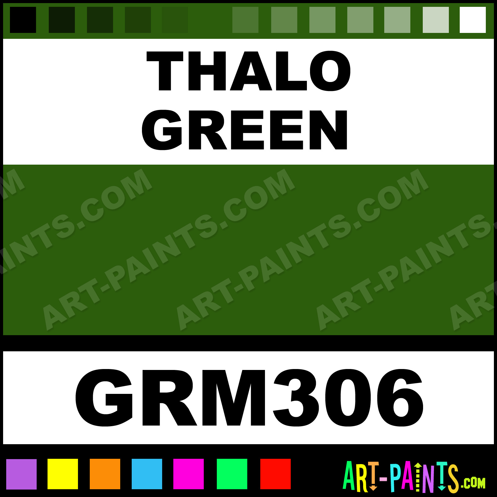 Grumbacher Oil Paint
