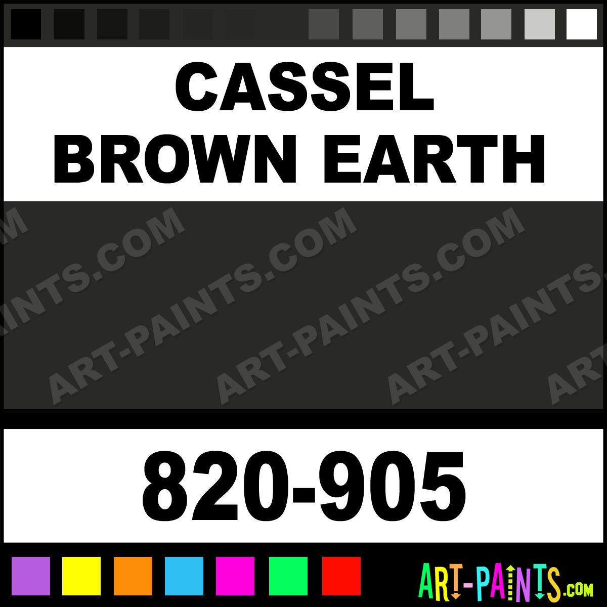 Cassel Earth Oil Paint