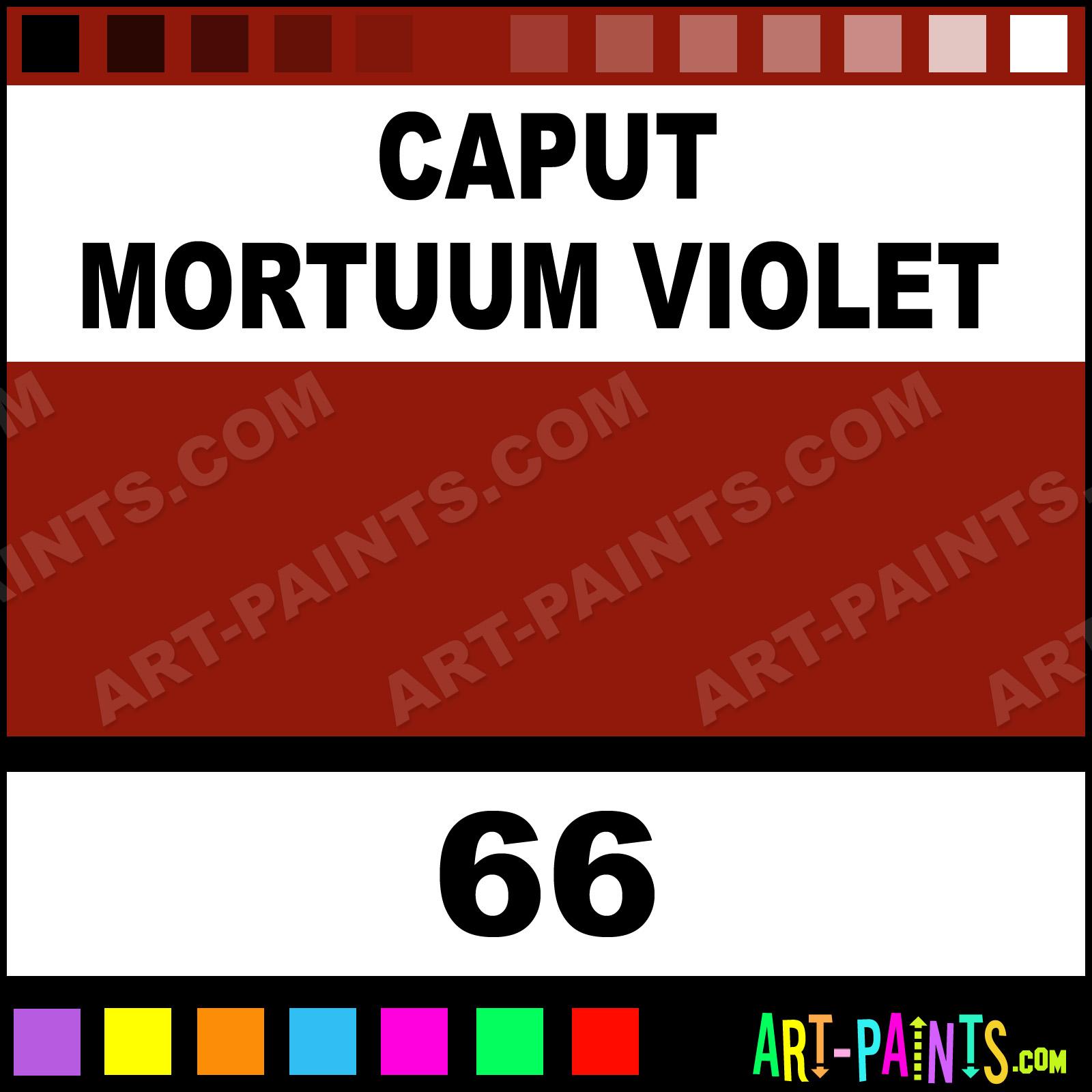 Caput Mortuum Violet Oil Paint