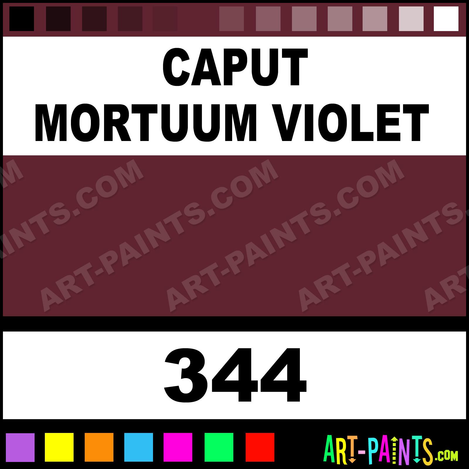 Caput Mortuum Oil Paint