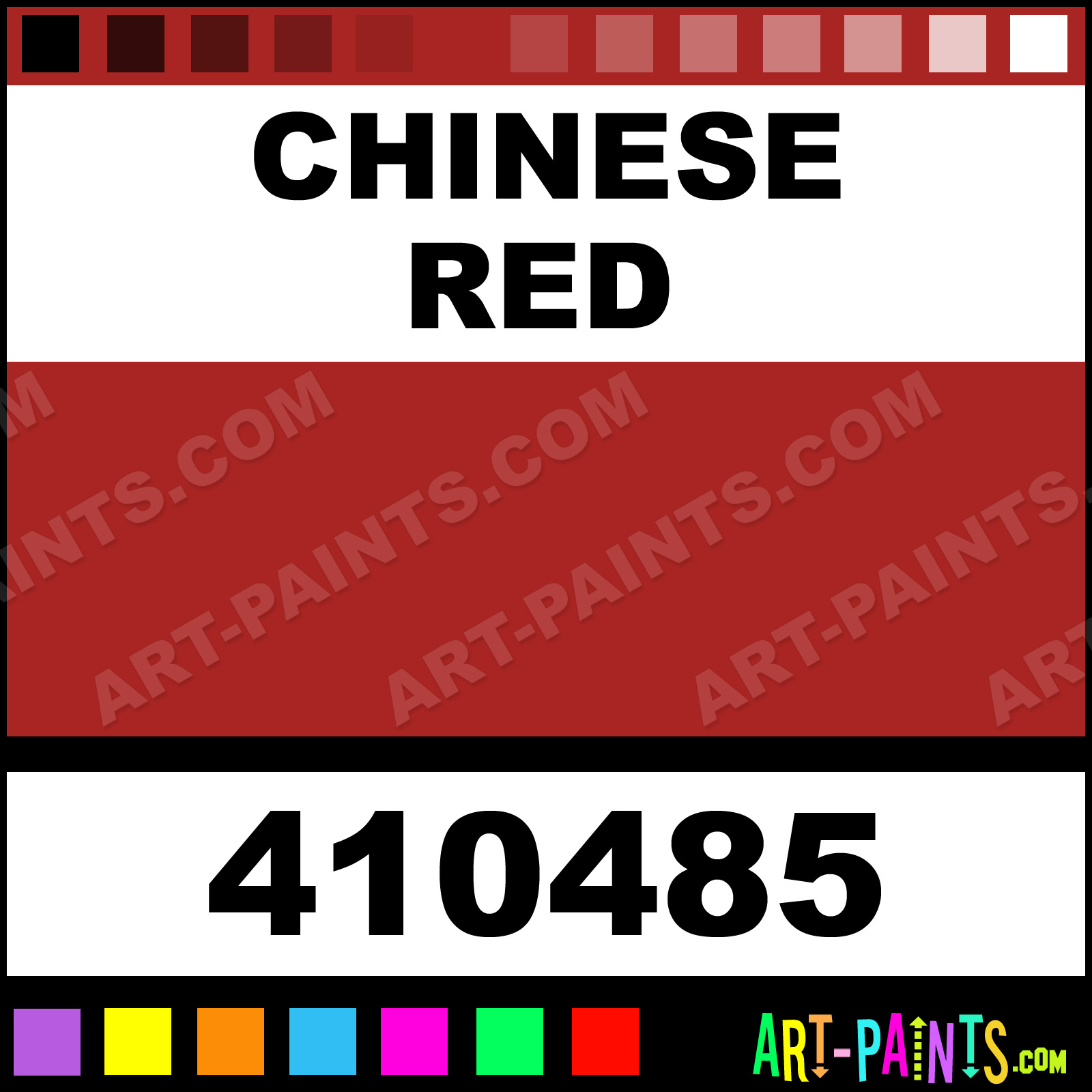 Chinese Red Paint