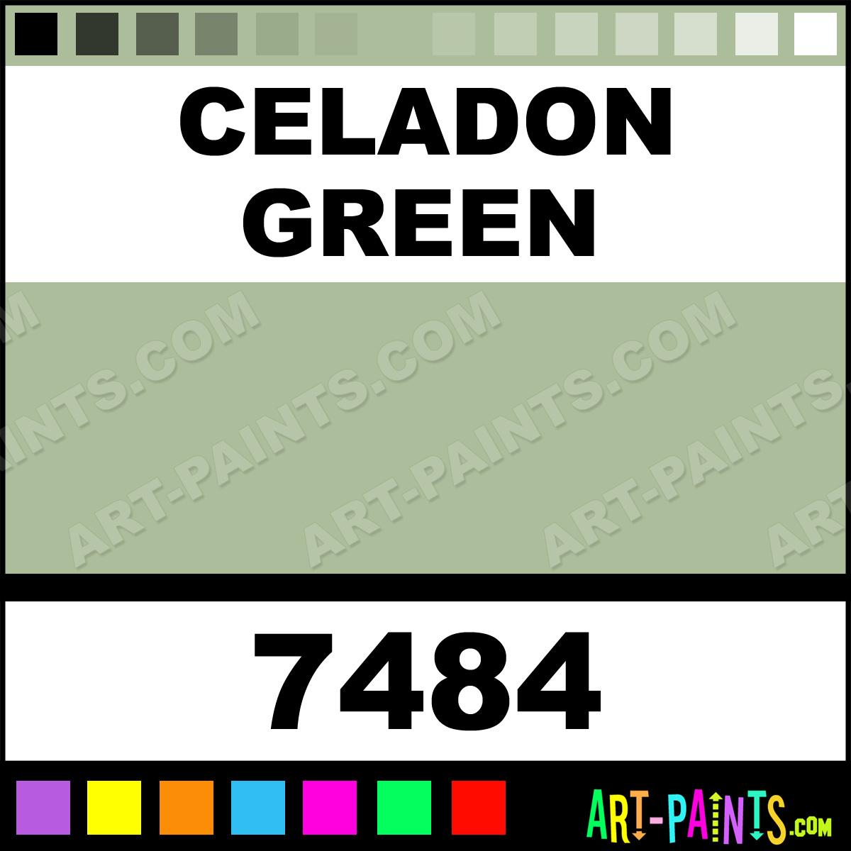Celadon Green Spray Paint