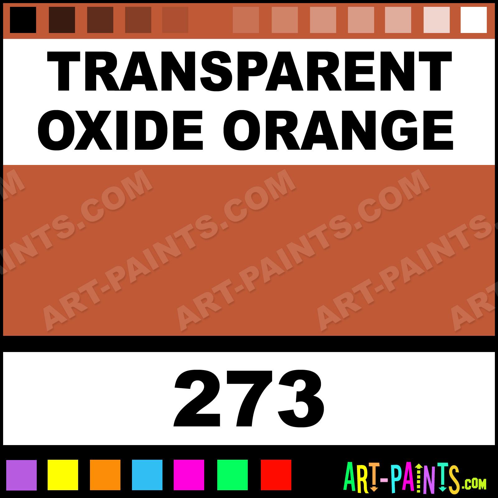 Rembrandt Transparent Oil Paints