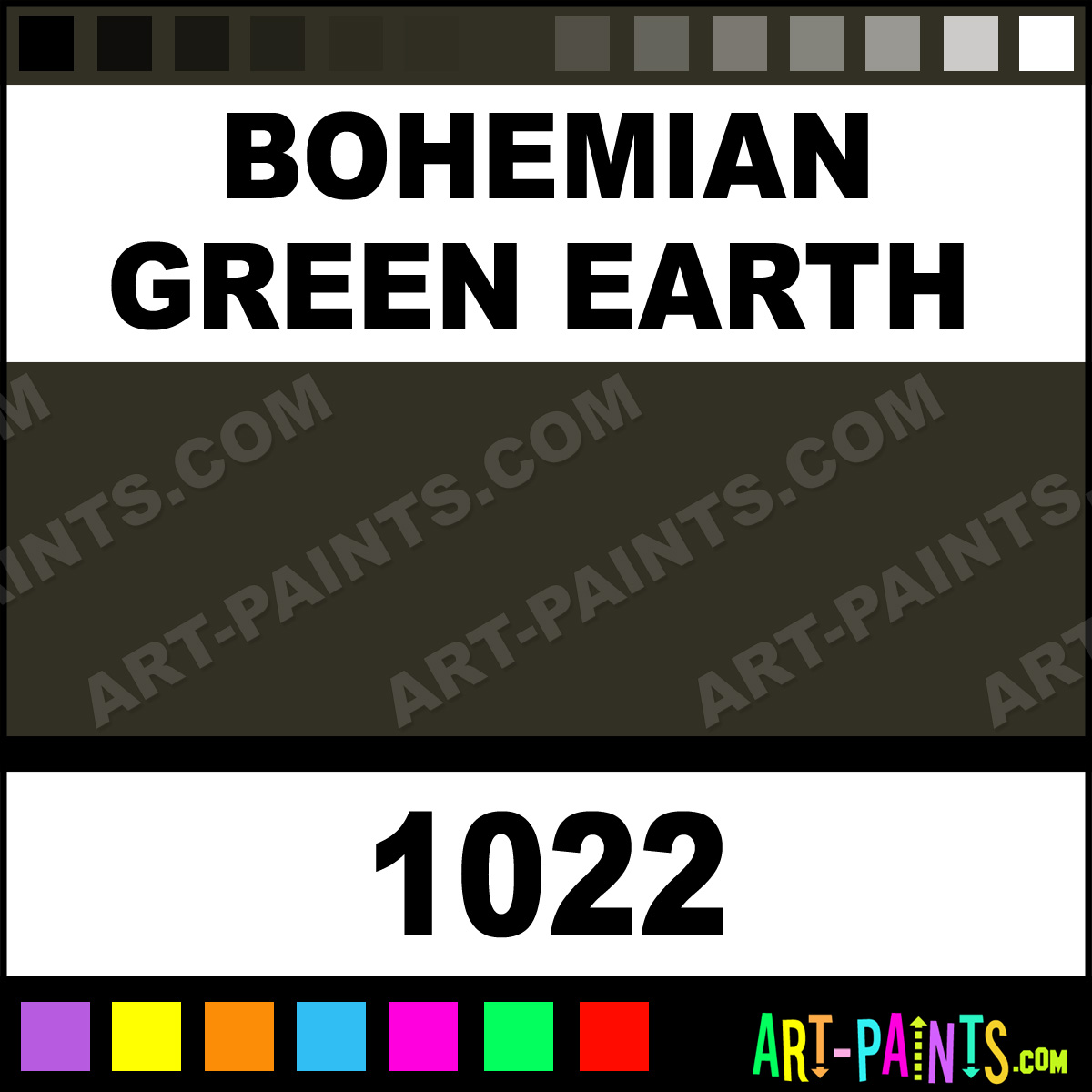 Bohemian green earth artist oil paints 1022 bohemian green 1022 by williamsburg artist paints nvjuhfo Image collections