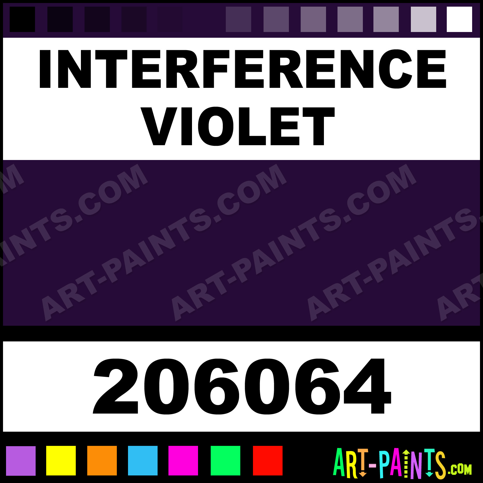 Williamsburg Paint Colors Interference Violet Handmade Oil Paints 206064