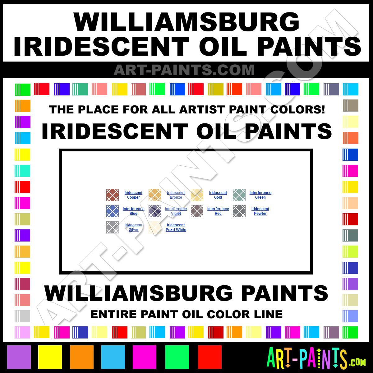 Williamsburg iridescent oil paint colors williamsburg for Williamsburg exterior paint colors