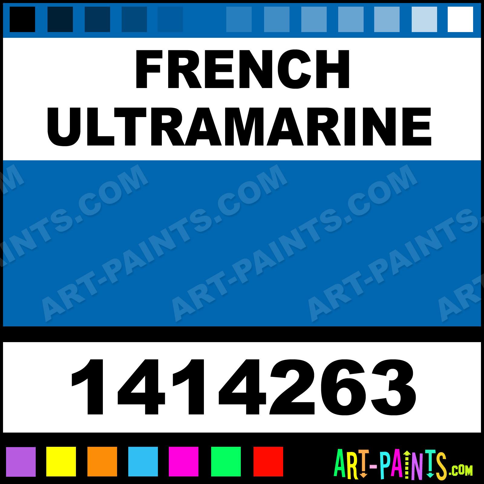 French Ultramarine Oil Colour Paints 1414263 Paint Color Winton 0066b1 Art