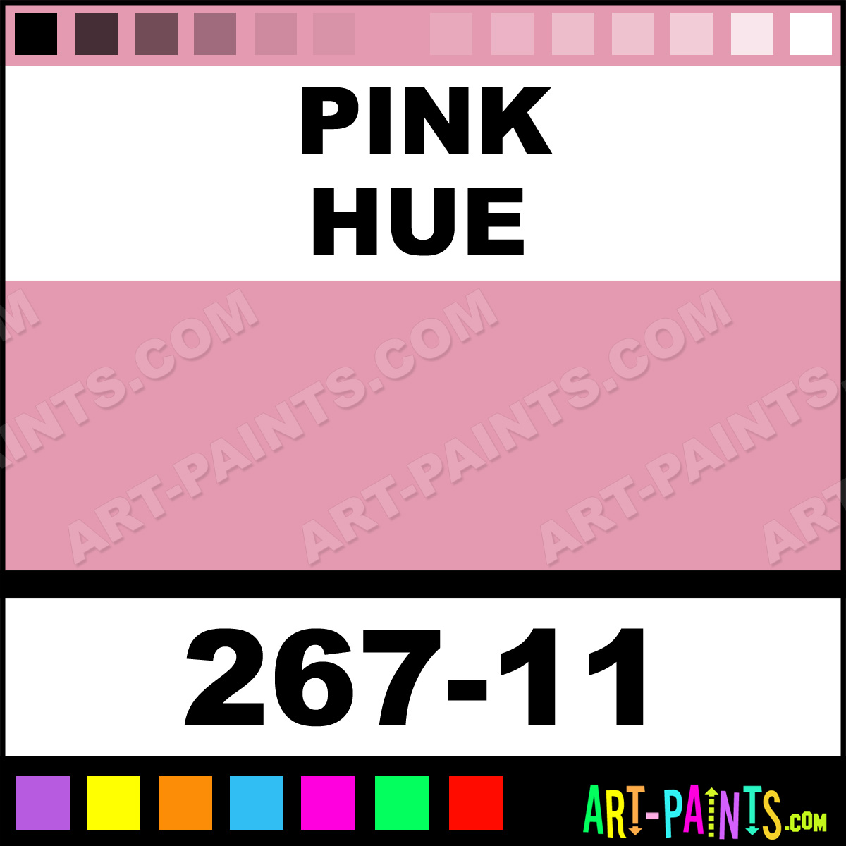 11 Pastel Paint Colors: Pink Paint, Pink Color, Conte A Paris Soft Paint, E49AB1