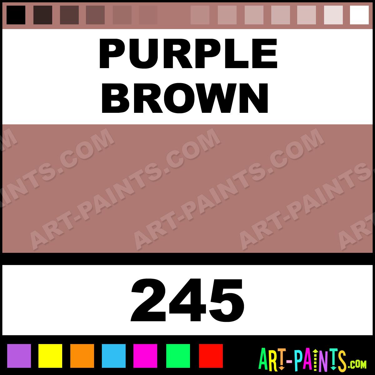 Purple Brown Soft Pastel Paints 245 Purple Brown Paint