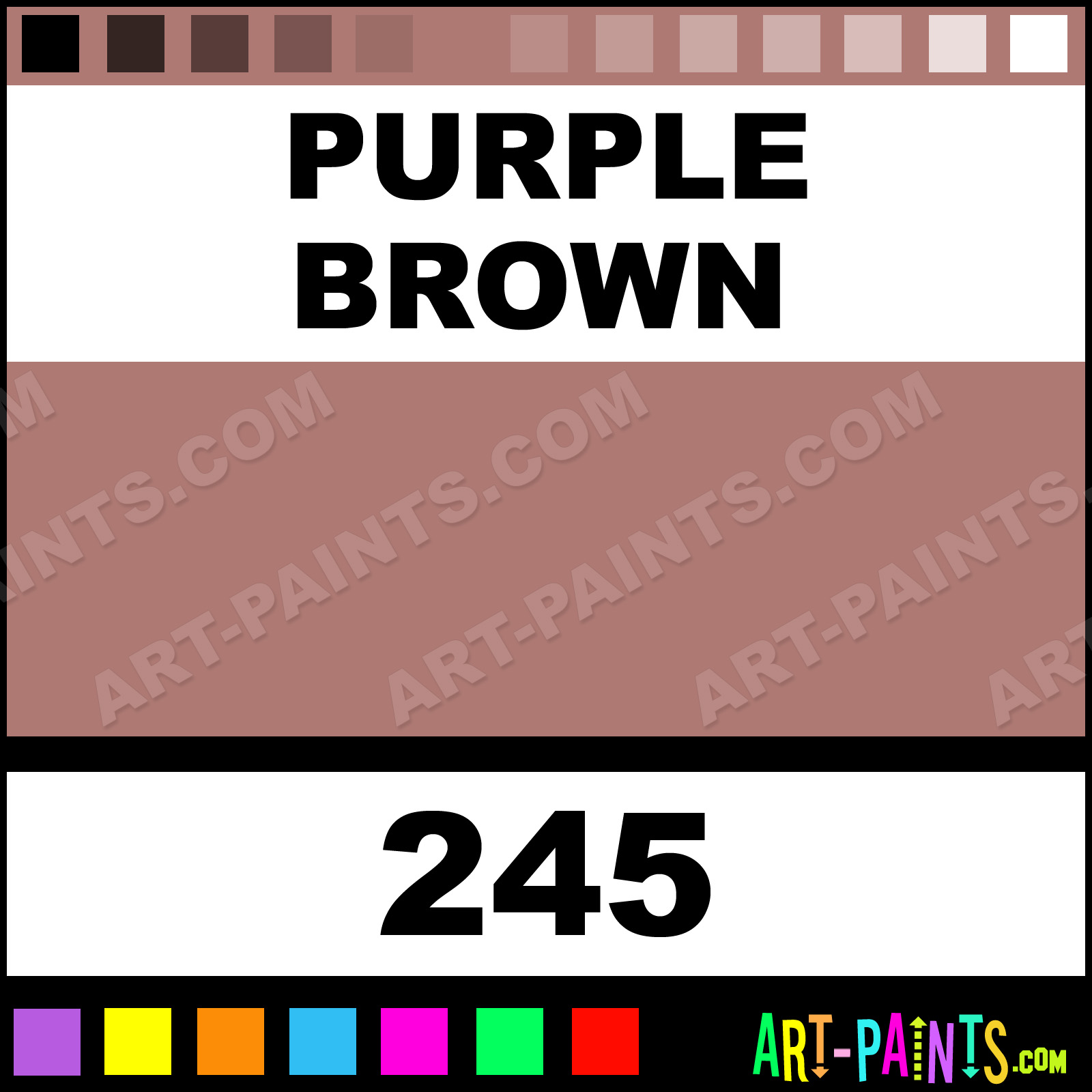 Purple Brown xlg