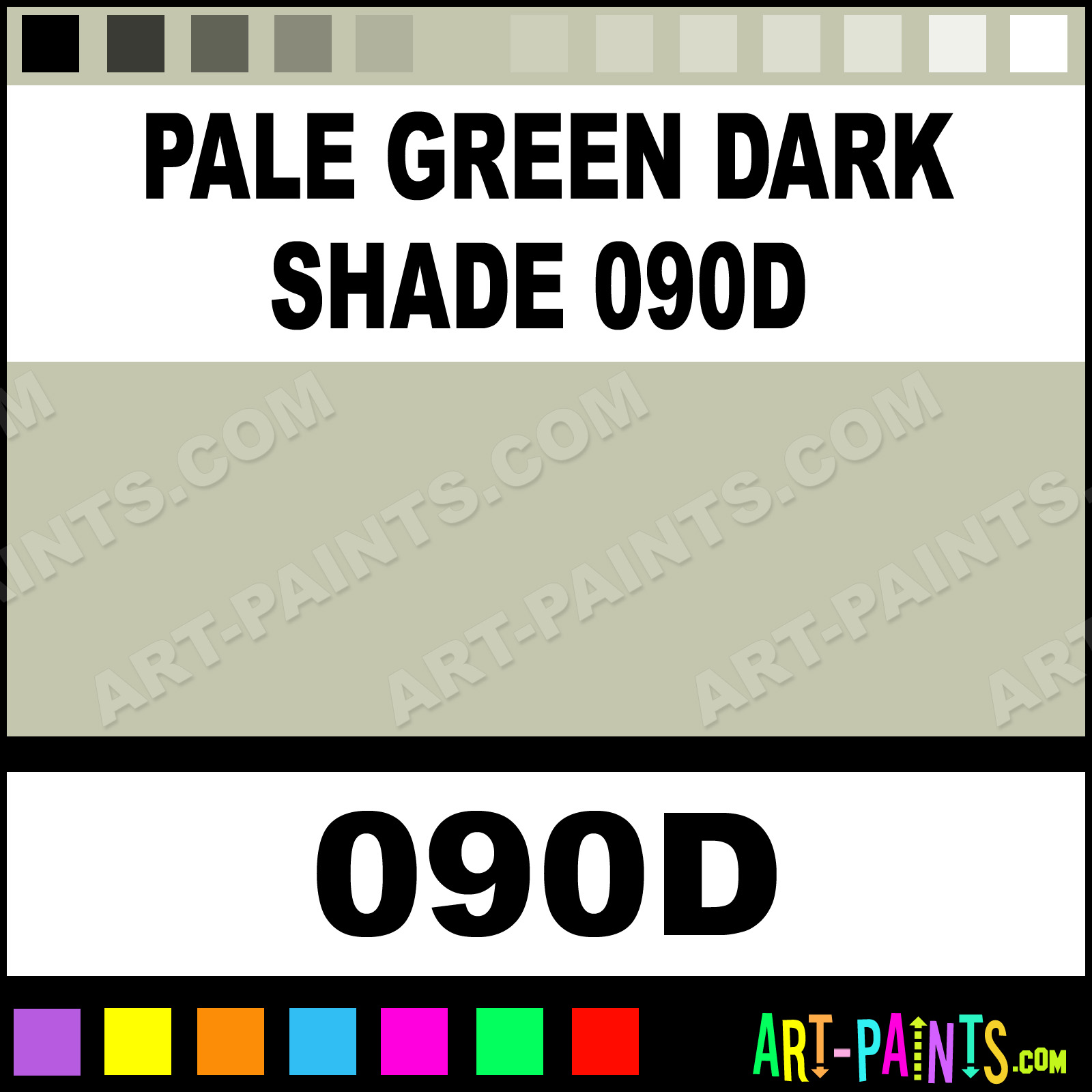 Pale Green Dark Shade 090d