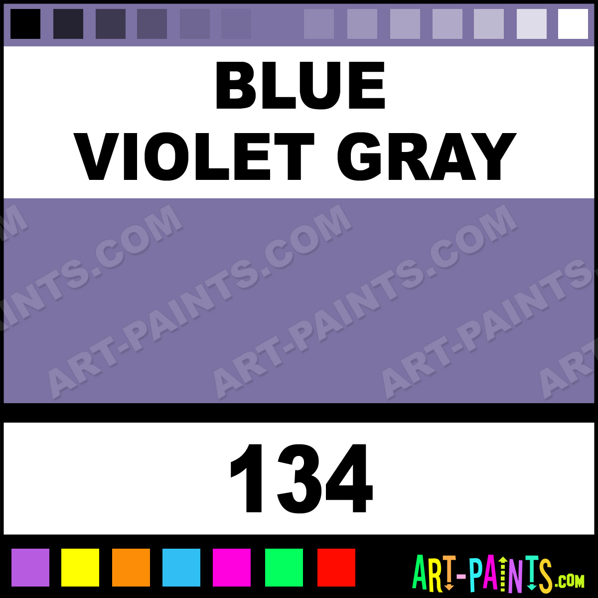 blue violet gray terrages pastel paints 134 blue
