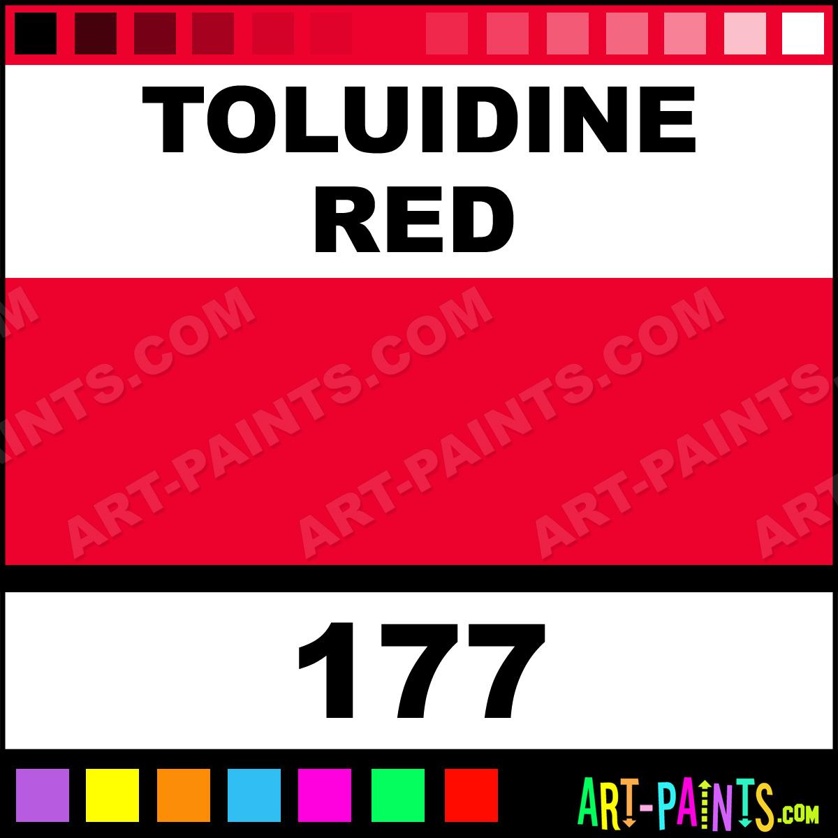 Toluidine Red Terrages Pastel Paints 177 Toluidine Red