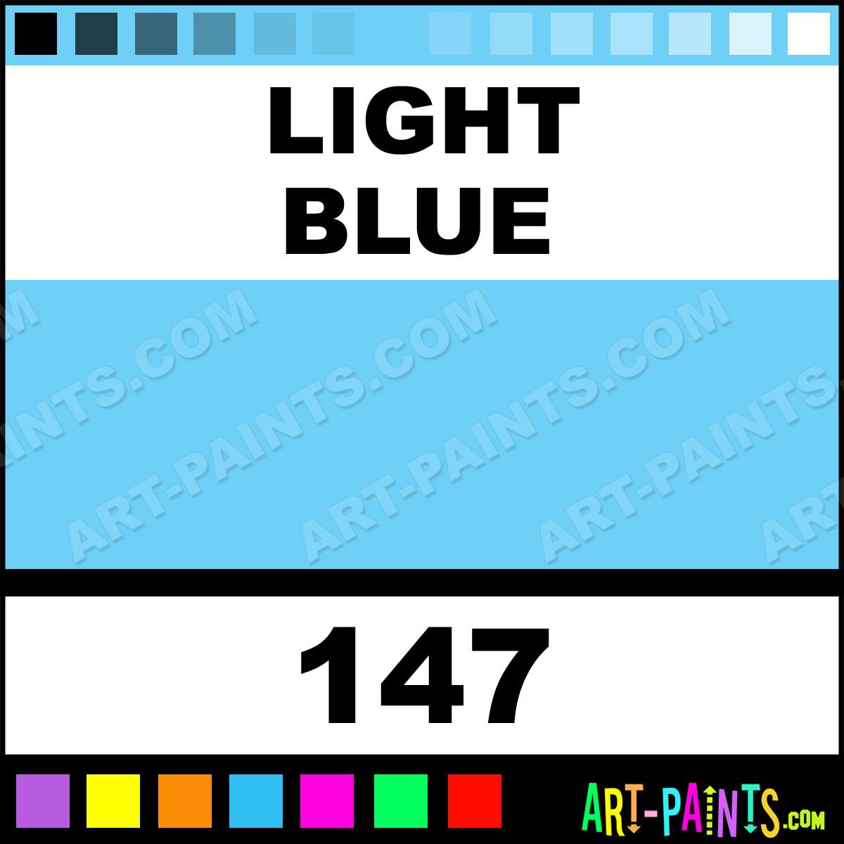 Light Blue Polychromos Pastel Paints 147 Light Blue