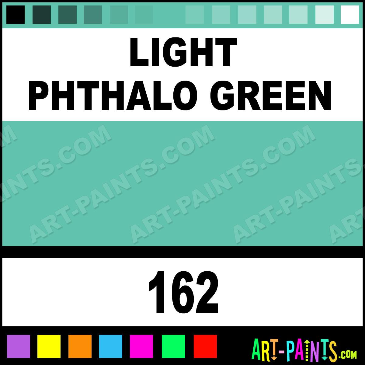 Light phthalo green polychromos pastel paints 162 Light pastel green paint