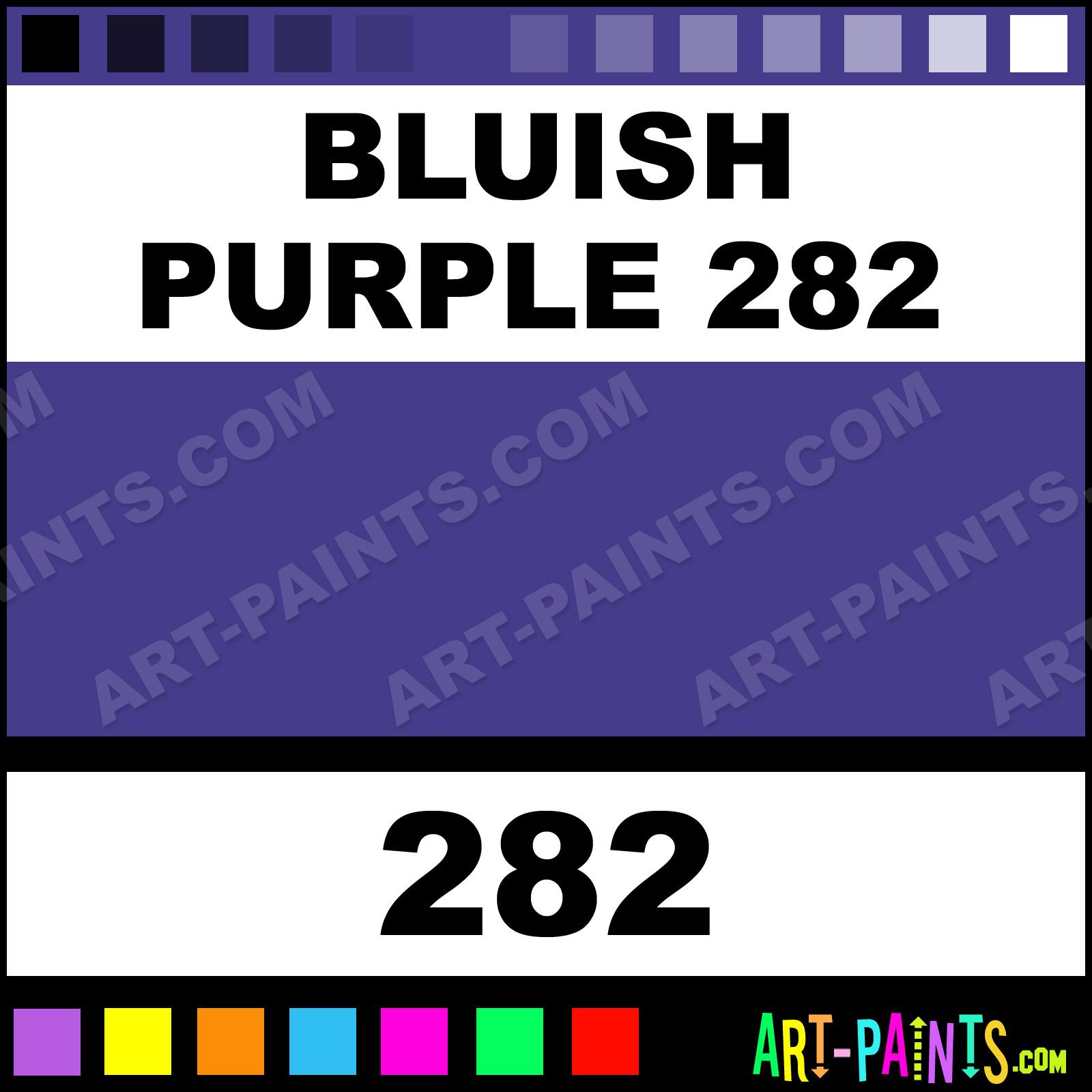 Bluish Purple 282 Flower and Fruit Pastel Paints - 282 - Bluish Purple 282  Paint, Bluish Purple 282 Color, Girault Flower and Fruit Paint, ...
